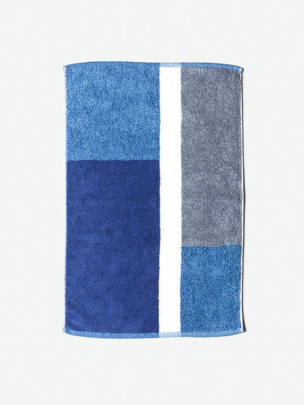Piet Bath Mat, Blue