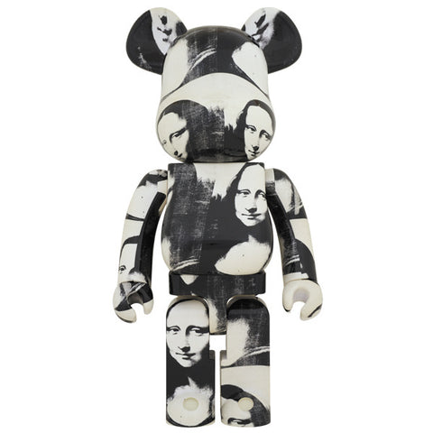 Andy Warhol Double Mona Lisa 1000% Bearbrick (PRE-ORDER)