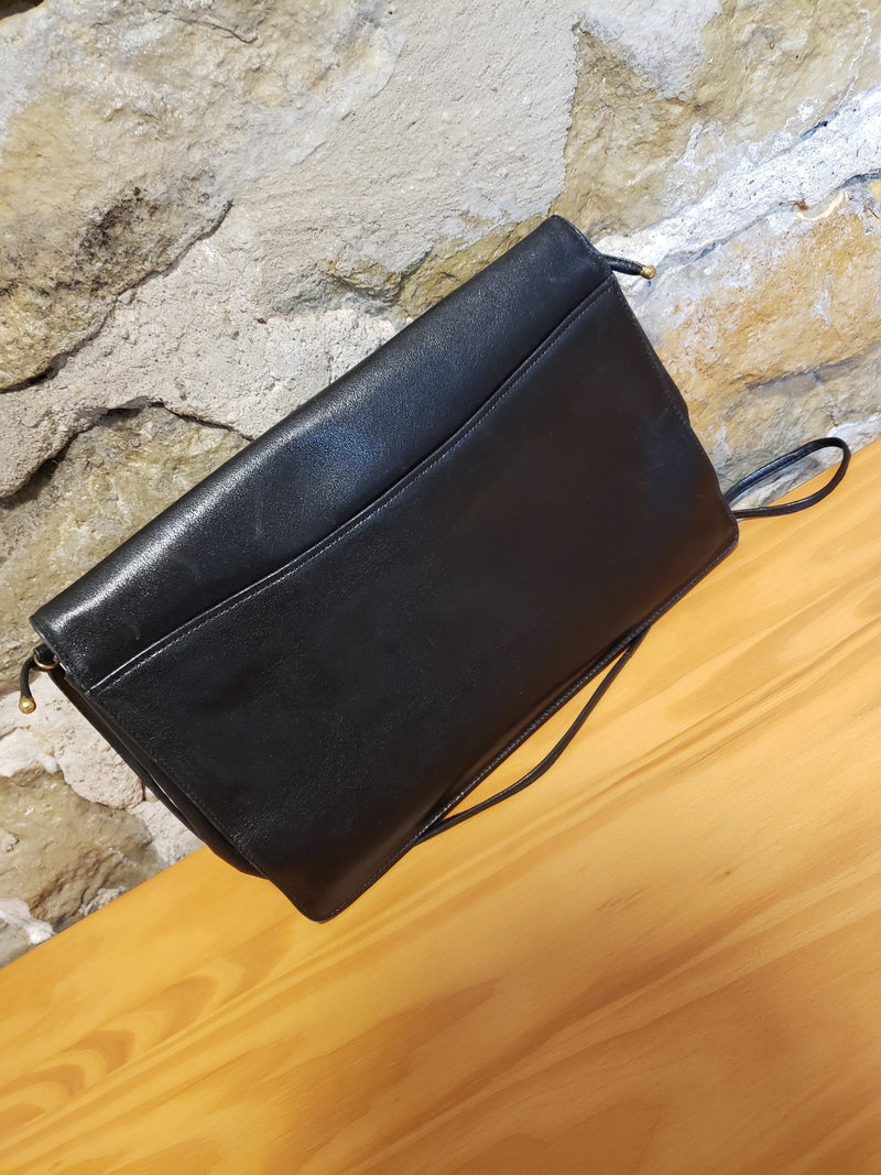 Christian Dior Black leather Crossbody/Clutch