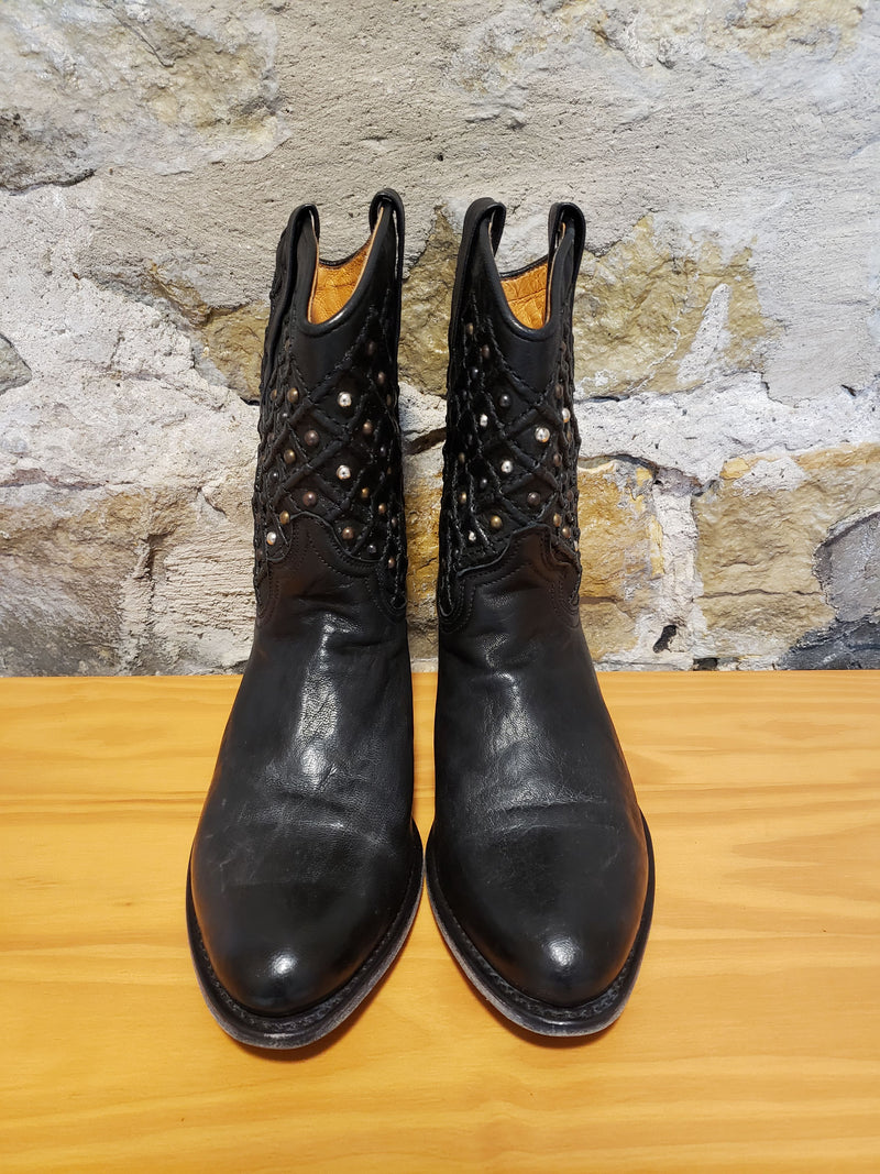 Frye Studded Boots Size 8