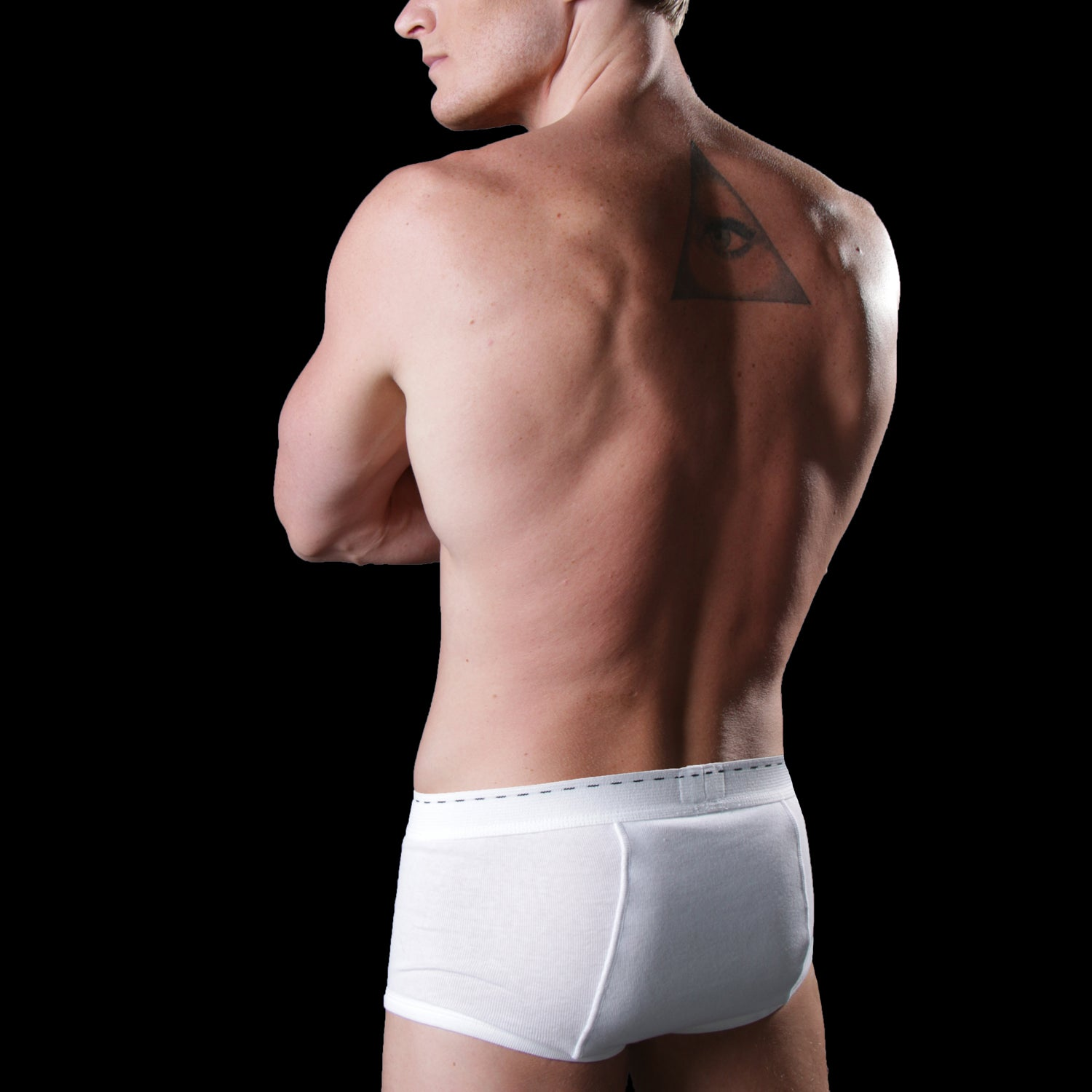 Tiger Underwear All White Brief