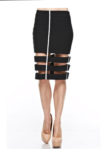 Designer inexpensive online boutique for women - Sexy Skirt With Tons Of Structures