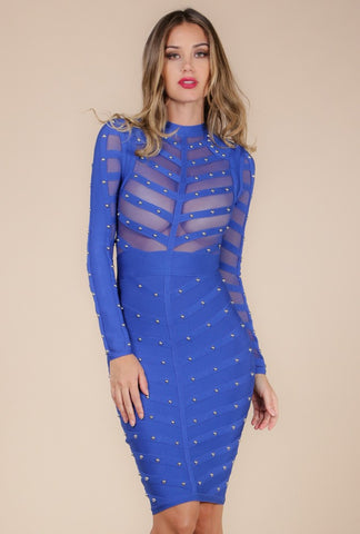 Designer inexpensive online boutique for women - Turn The Head Mesh Body Con Dress