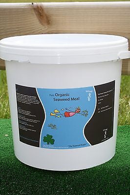 Seaweed Granular Seaweed Meal Plant Fertilizer Organic Fertiliser Feed 4kg Tub