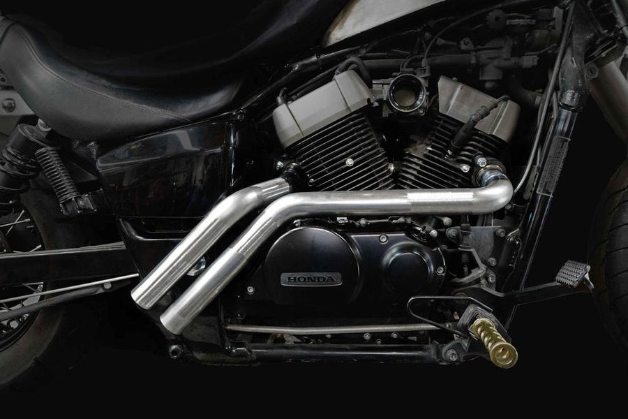 The BEST Exhaust Option for Honda Shadow Bobbers: Backdraft Exhaust