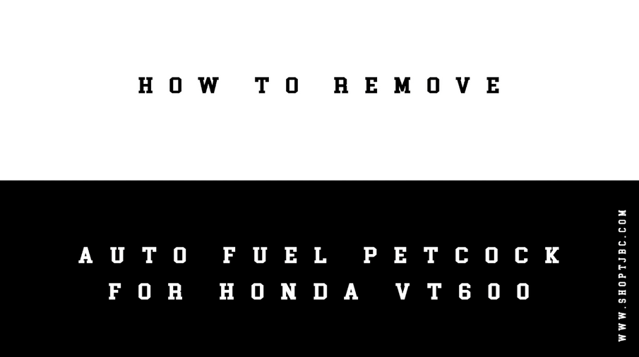 How Do I Remove the Auto Fuel Petcock from My Honda Shadow VT600? (VIDEO)