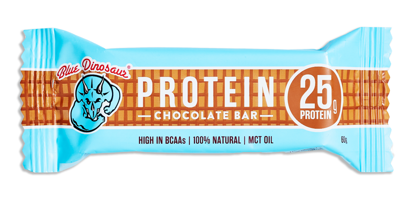 Blue Dinosaur Protein Bar