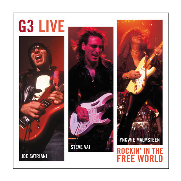 G3 Live: Rockin In the Free World CD