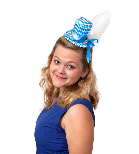 Mini Oktoberfest Party Hat w/ Bavarian Design