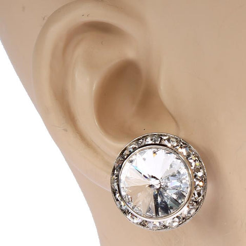 16mm Swarovski Crystal Performance Earrings (Clip-On's)