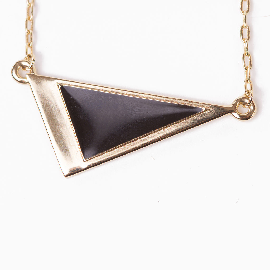 Olwen Classics Triangle Pendant Necklace