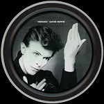 David Bowie Hero Round Tin