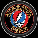 Grateful Dead Steal Your Face Round Tin