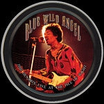 Jimi Hendrix Blue Wild Angel Round Tin
