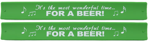 Holidays Slap Bands  - It's the Most Wonderful Time For A Beer
