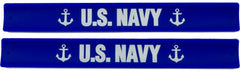 Military Slap Bands  - US Navy