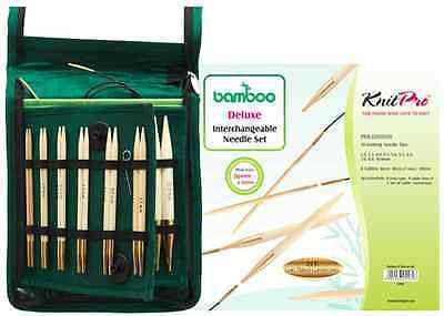 "KnitPro ""Bamboo"" IC Circular Knitting Needles - Deluxe Set  