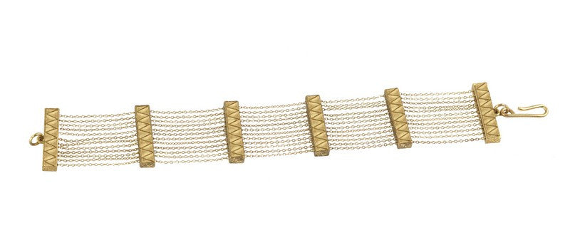 Peak to Peak Chain Bracelet - FashionLife  - 1