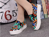Good quality Women canvas shoes 2016 Summer colorful Women Shoes Flats Breathable Casual shoes Women Zapatillas Mujers - Raja Indonesia