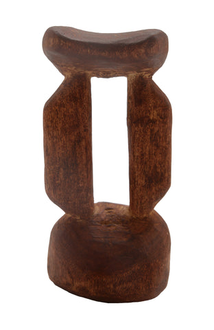 African Tribal Headrest 05