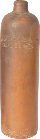 Stoneware Whiskey Bottle (Brown),[product_collection],Balaji's Antiques and Collectibles, - Artisera