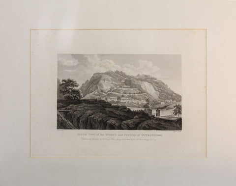 Robert Hoe's South View of the Works and Pettah of Ootradroog,[product_collection],Balaji's Antiques and Collectibles, - Artisera