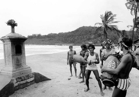 Baga Beach - Goa #1, 1983,[product_collection],Tasveer,Karan Kapoor - Artisera
