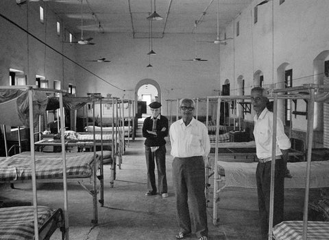 The Dormitory at Tollygunge Home - Calcutta, 1981,[product_collection],Tasveer,Karan Kapoor - Artisera