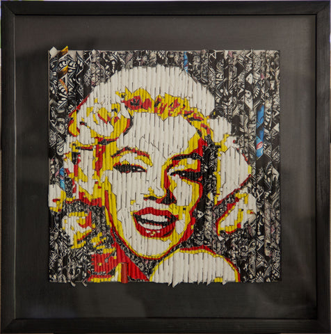 Storyteller - Marilyn Monroe,[product_collection],Artisera Paintings,Vinita Dasgupta - Artisera