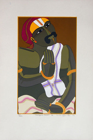Telangana Pandit - III,[product_collection],Archer Art Gallery,Thota Vaikuntam - Artisera