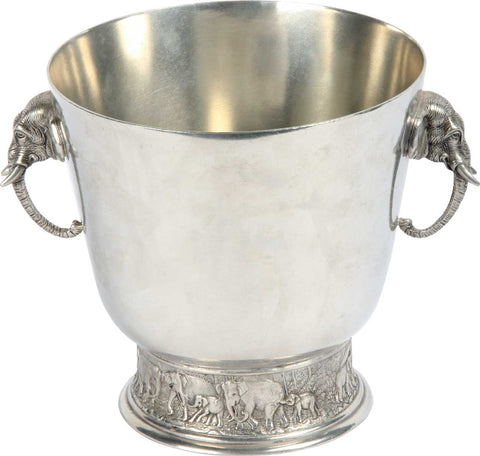 Ice Bucket with Elephants,[product_collection],The Great Eastern Home, - Artisera