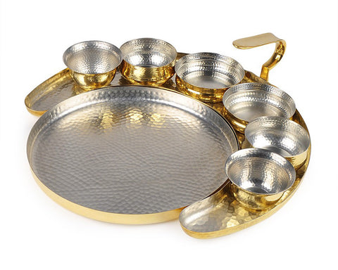 Crescent Thaali Set,[product_collection],Anantaya, - Artisera
