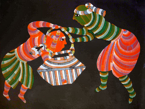 Gond - Untitled 40,[product_collection],Must Art,Narmada Prasad Tekam - Artisera