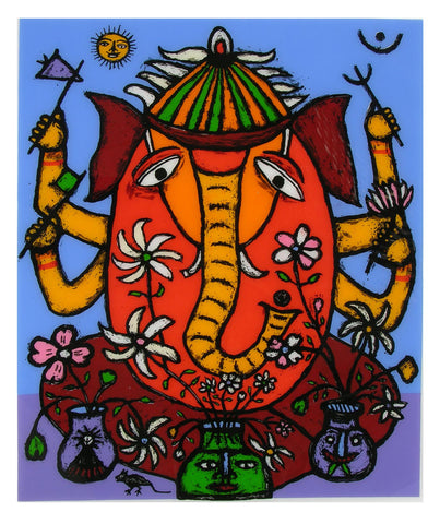 Ganesh - I,[product_collection],Archer Art Gallery,Madhvi Parekh - Artisera