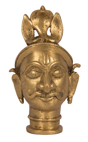 Mukha Linga (Khandoba) with Serpent Head