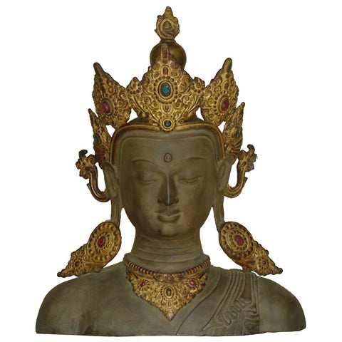 Nepalese Buddha Head,[product_collection],La Boutique, - Artisera