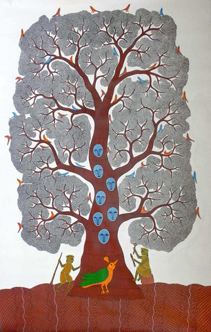 Gond - Untitled 02,[product_collection],Must Art,Bhajju Shyam - Artisera
