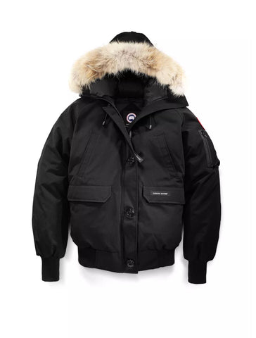 Chilliwack Bomber in Black - CANADA GOOSE