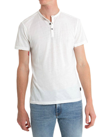 Short Sleeve Henley - JOHN VARVATOS