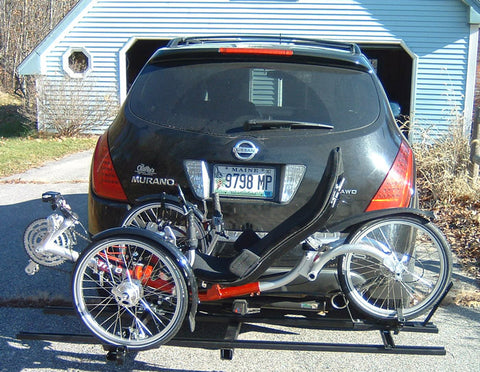 One Trike Hitch Rack
