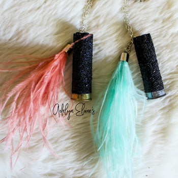 Boho Feather Rear View Mirror Hanger