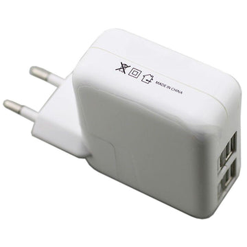 Universal Charger 4 USB Ports for all Smartphones - 4.1 amp Power