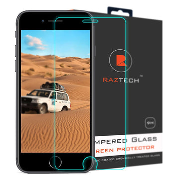 Apple Generic product iPhone 8 Plus Tempered Glass Screen Protector Pack of 2