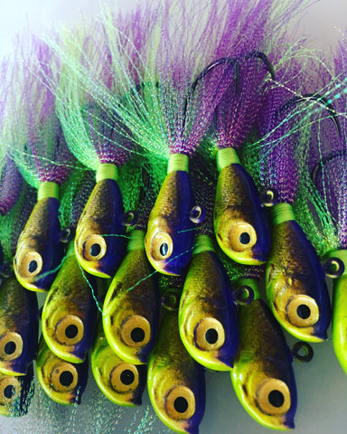 """Disco Lemonade"" Glass Minnow"