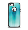 The Teal Disco Ball Apple iPhone 5-5s Otterbox Defender Case Skin Set
