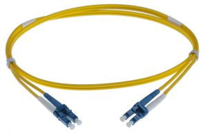 7m LC-LC singlemode - 2mm duplex patchcord YELLOW