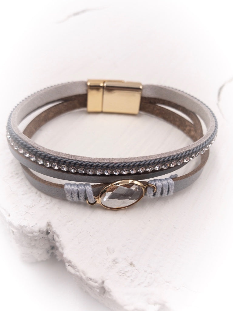 Parker Leather Wrap Bracelet