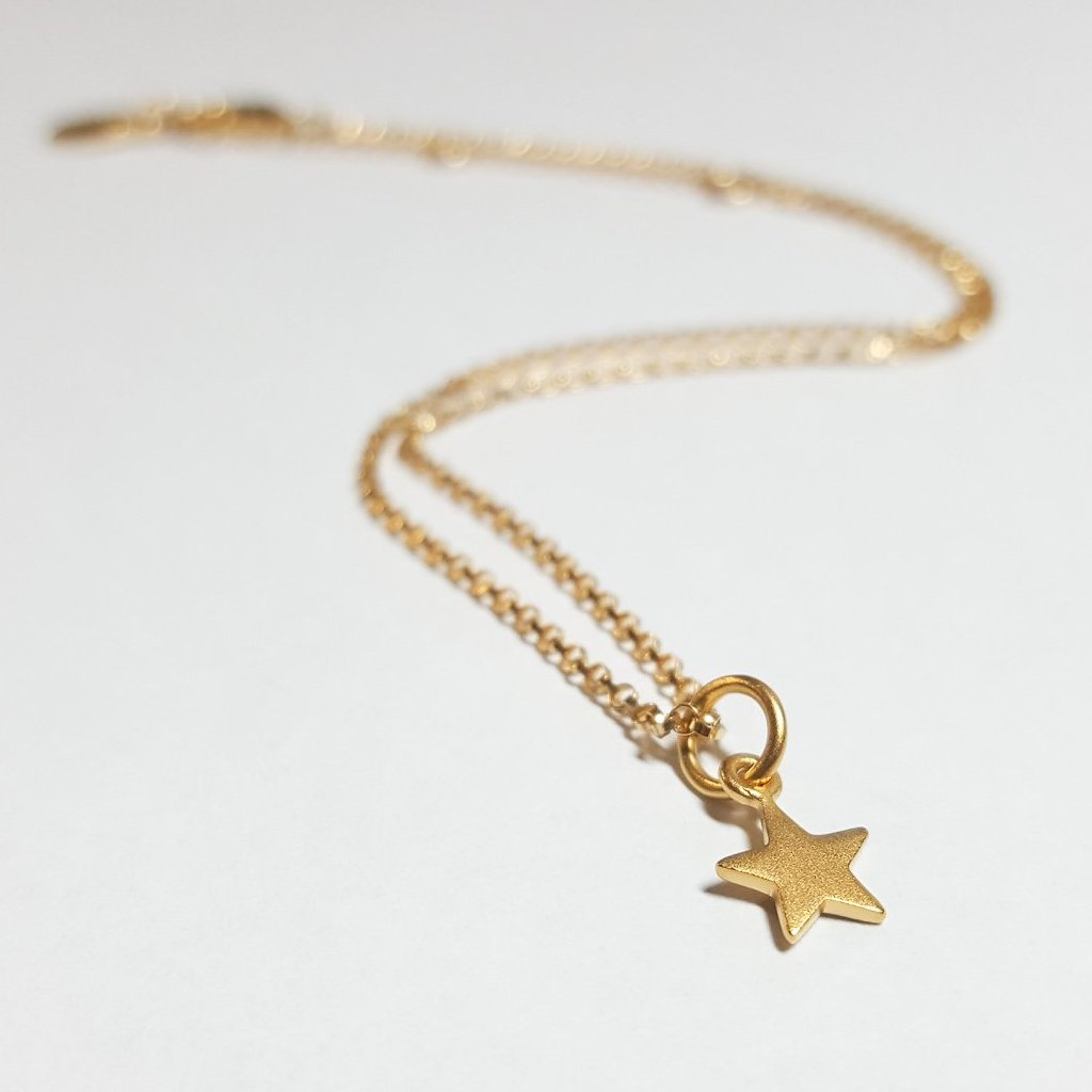 "The ""Starry Eyed Twins"" Matching Necklace Set"