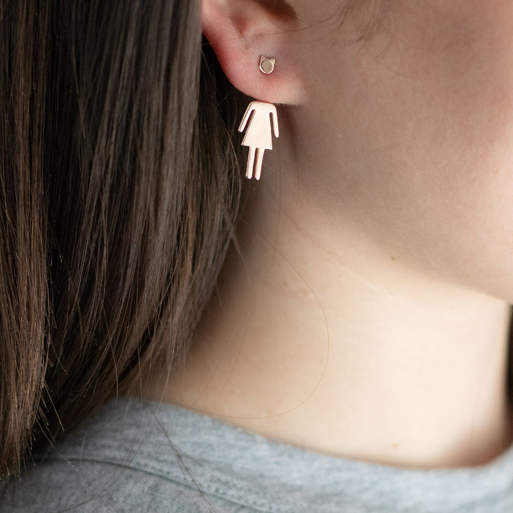 "The ""Pussy Power"" Stud Earrings"