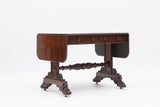 A VERY FINE REGENCY ROSEWOOD SOFA TABLE ATTRIBUTED TO GILLINGTONS OF DUBLIN - REF No. 7001